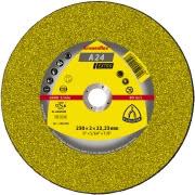 Disc debitat metal Klingspor A24